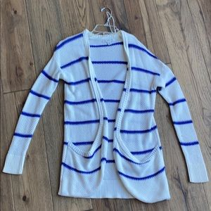 Blue-stripped American Eagle Cardigan💙✨